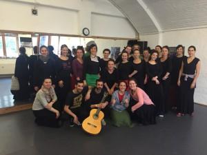 Concha Jareno Centro Flamenco Berlin 04:16